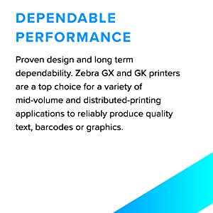 dependable performance