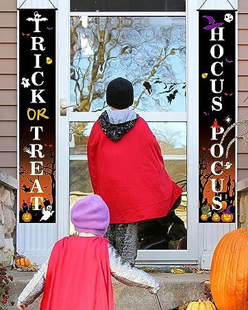 Halloween hanging banners
