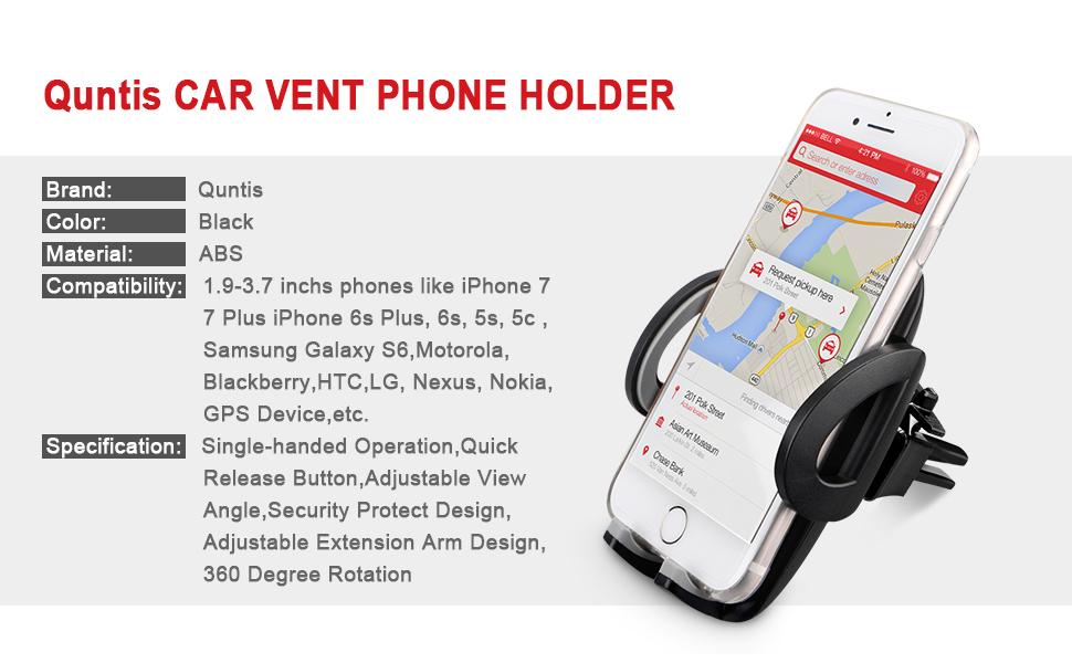 Quntis Telefonhållare