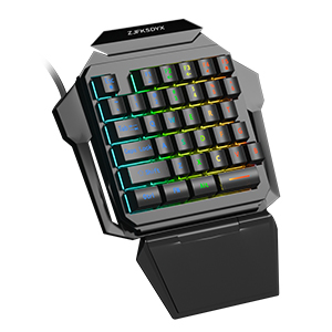 Professional gaming keyboard and mouse