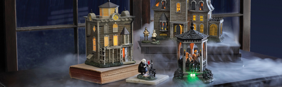 Department 56 Addams Family Village Collection Header