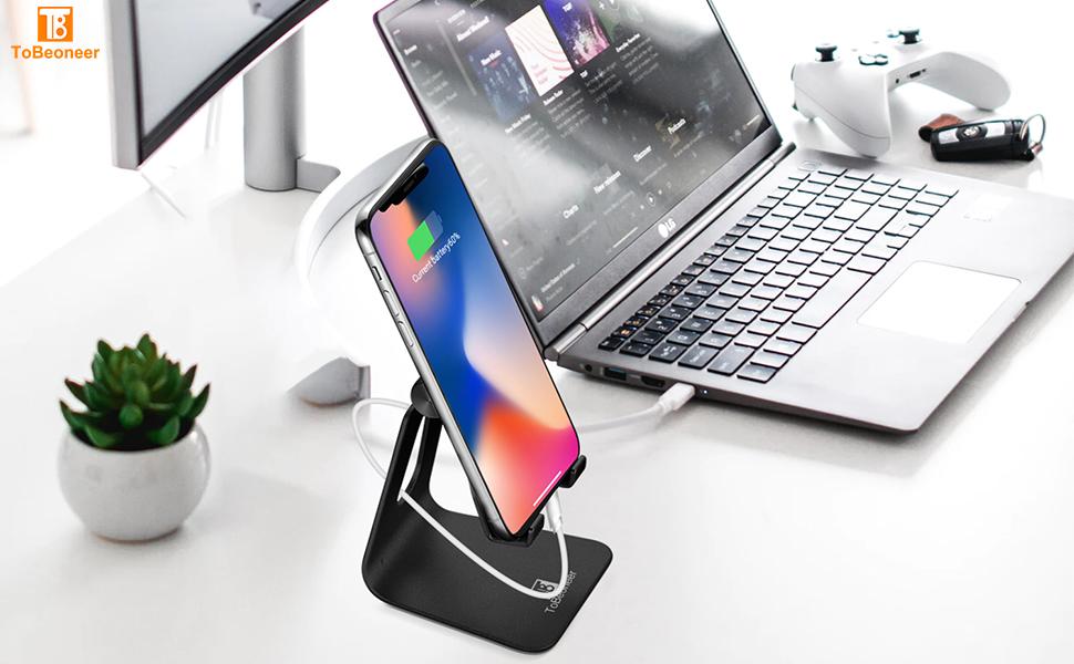 adjustable cell phone stand holder for desk