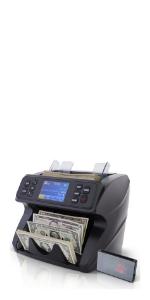 Deteck Spark Money Counter Machine Mixed Denomination