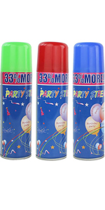 Party Happy String Aerosol Cans 210 ml Fun Play Messy Kids