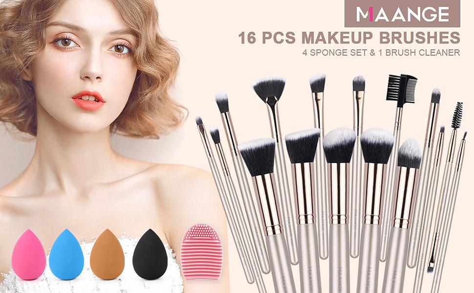 makeup brushes set professional face makeup brush with case brochas de maquillaje professional brush