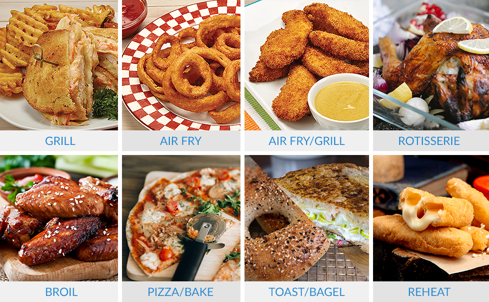 PowerXL food variety possibilities
