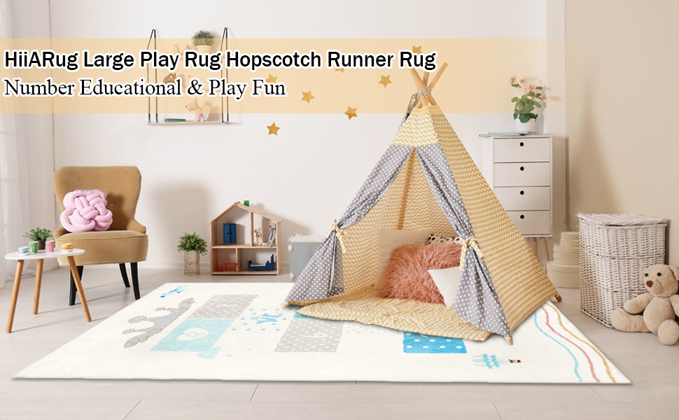 Kids Area Rug for play room