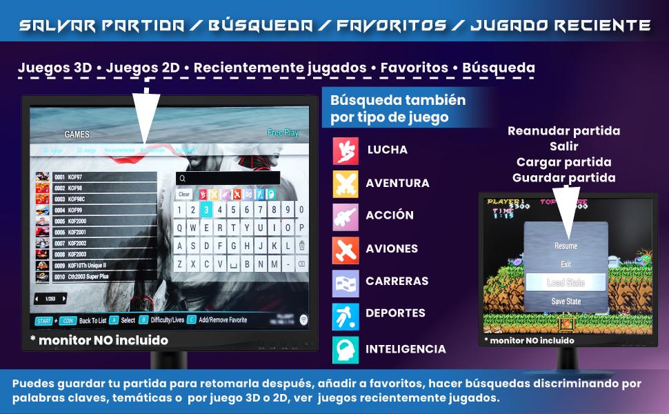 pandora box wifi, pandora box 8000 juegos, pandora box 10, pandora box mame, unicview