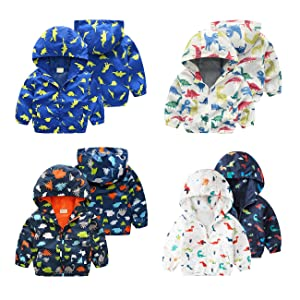 Infant Toddler Hoodie Hooded Zip-up Thin Jacket Clothes