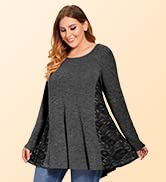 plus size tunic tops for women
