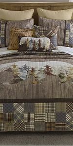Chimera Bear, Donna Sharp, Quilts, Quilt Sets, Lodge, Bear Pattern