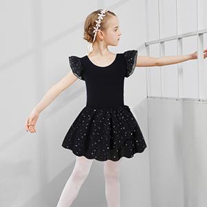 Black Dance Leotard Dress