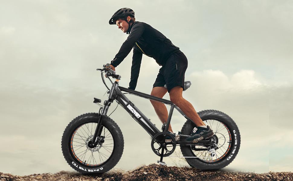 Nakto Discover 48v Fat Tire Electric Bike