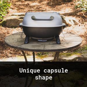 Unique Capsule Shape