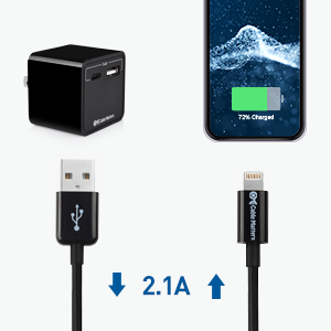 Cable Matters MFi Certified USB-A to Lightning cable