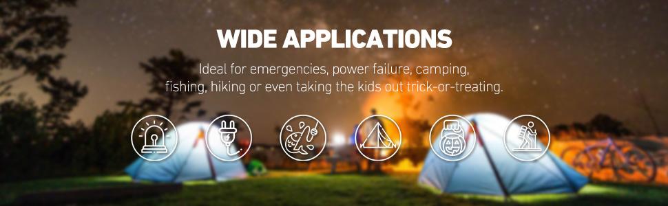 Cartman Portable LED Camping Lantern