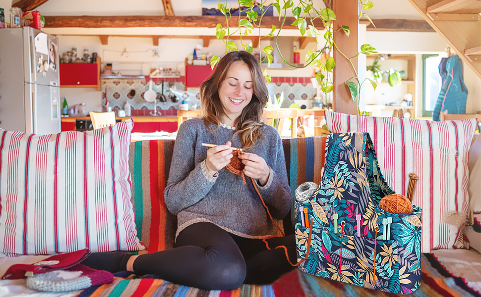 Globalstore Yarn Storage Organizer Knitting Bag