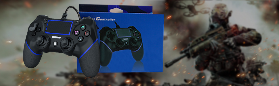 1 x ps4 controller wired