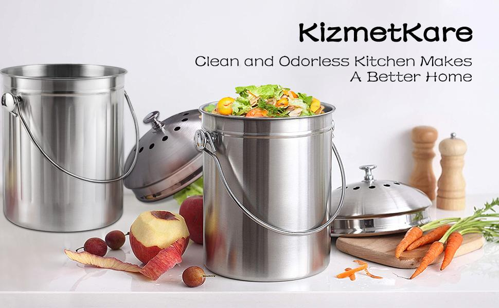 Clean and Odorless Kitchen Makes A Better Home