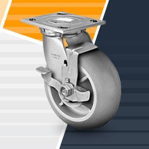 Heavy Duty Locking Caster Wheel