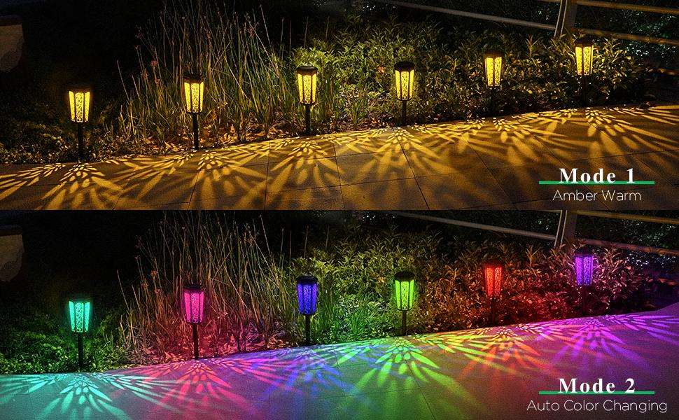 solar lights outdoor decorative