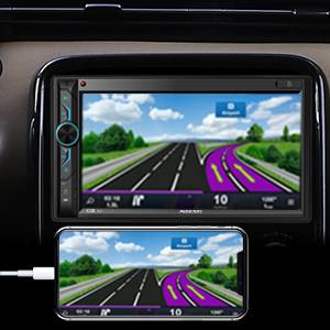 car audio with mirroring