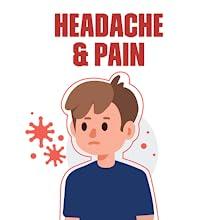 headache and pain
