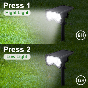 Hight and low solar spot light