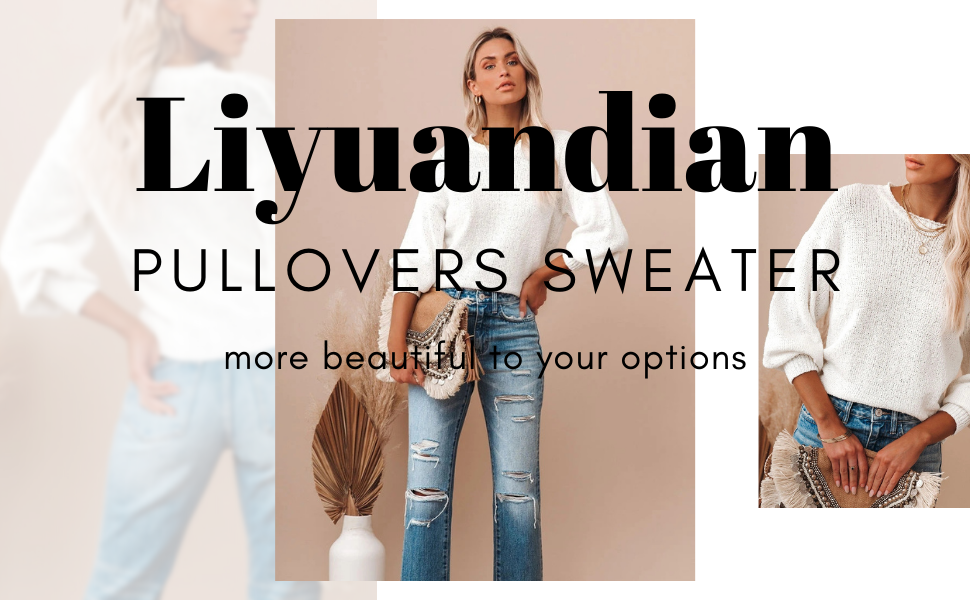 Liyuandian pullovers sweater