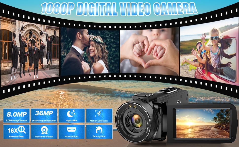 1080P DIGITAL VIDEO CAMERA