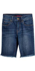 dollhouse Women's Denim Bermuda Shorts