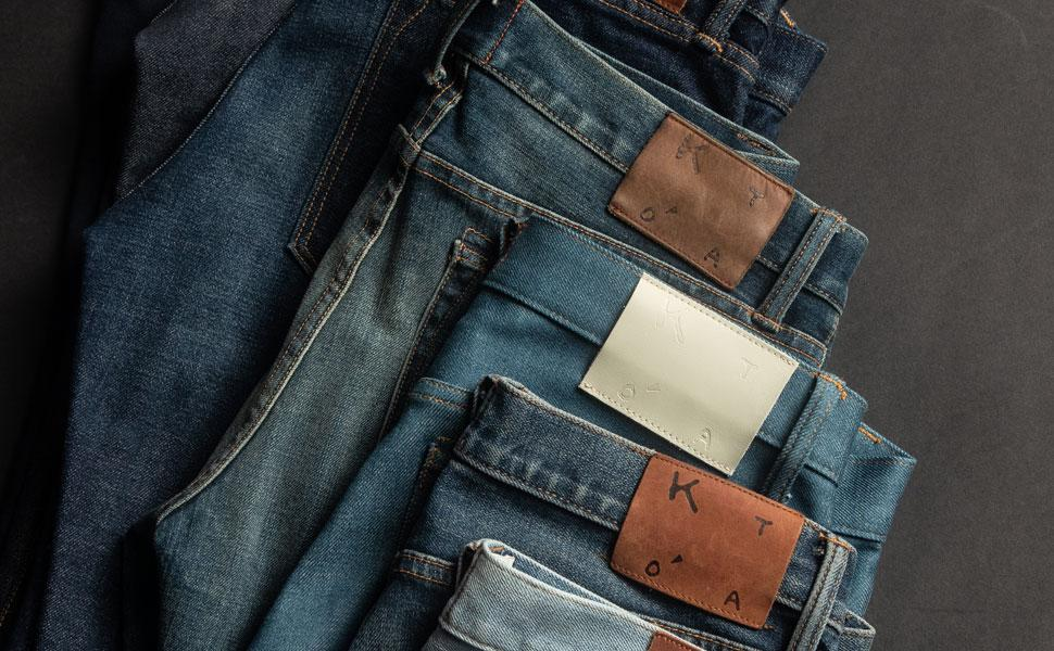 4way stretch selvedge jeans