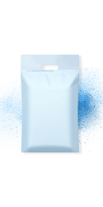 Famagic poly mailers with handle 12x15.5 inch shipping bags