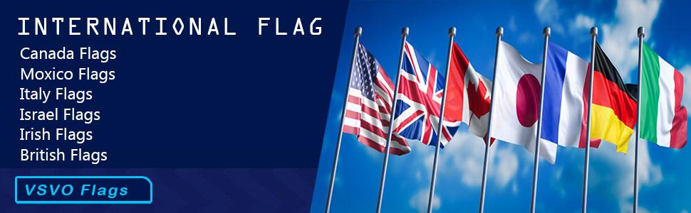VSVO International Flags