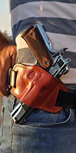 Ottoza Full Grain Leather Gun Holster
