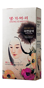Daeng gi meo ri, Medicinal Herb Hair Dye, Gray Hair Coverage, Hair Dye