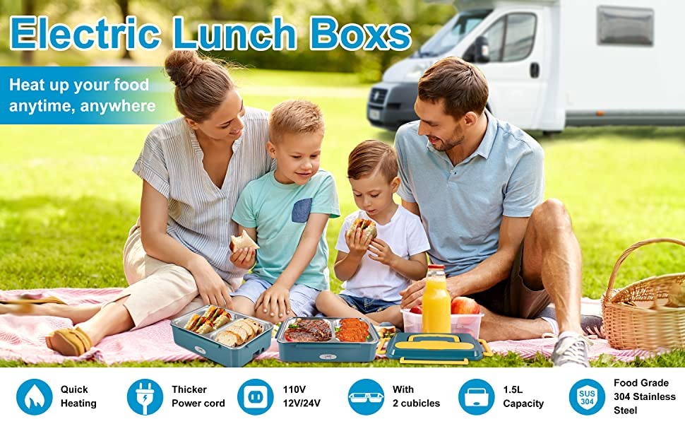 luncheaze the self-heating lunchbox