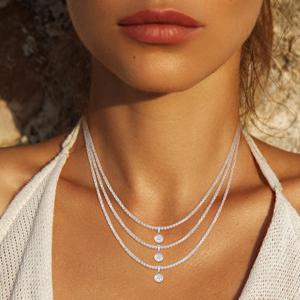Adjustable Necklace gold chain diamond cross gold pendant cross with diamond gold cross with diamond