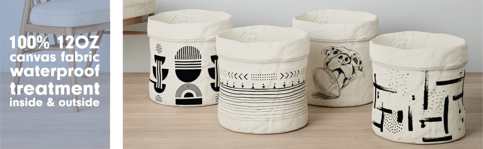 Yellobae Storage bag - all design- 100% 12 OZ canvas fabric