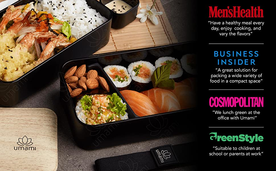 umami bento lunch box gift mother father