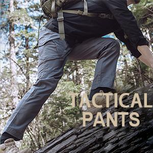 Men's Outdoor Military Tactical Pants Rip-Stop Cotton Causal Cargo Pants