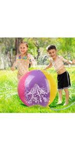 Sprinkler Inflatable Ball Water Toys