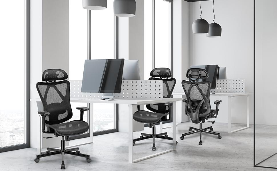 high-back home office desk chair