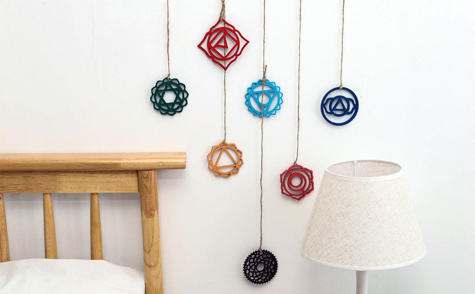 7 chakra decor