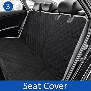 Pet dog seat cover