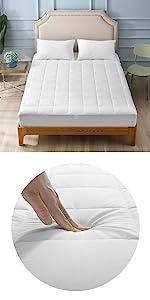Cotton Fabric Mattress Pad