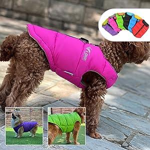 Winter Dog Vest