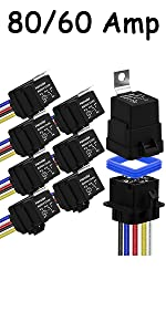 8Pack 80/60 Amp Relay