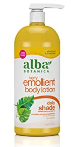 very emollient daily shade