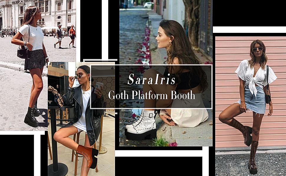 Saralris Goth Platform Booth